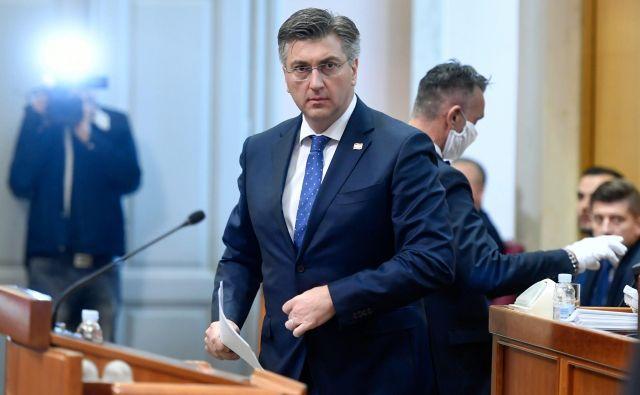 Nova vlada Andreja Plenkovića bo imela 16 ministrstev, štiri manj kot prejšnja. Foto Goran Mehkek/Cropix