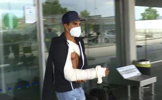 Marc Marquez po operaciji že odšteva dneve do vrnitve na dirkališča. FOTO: Motogp