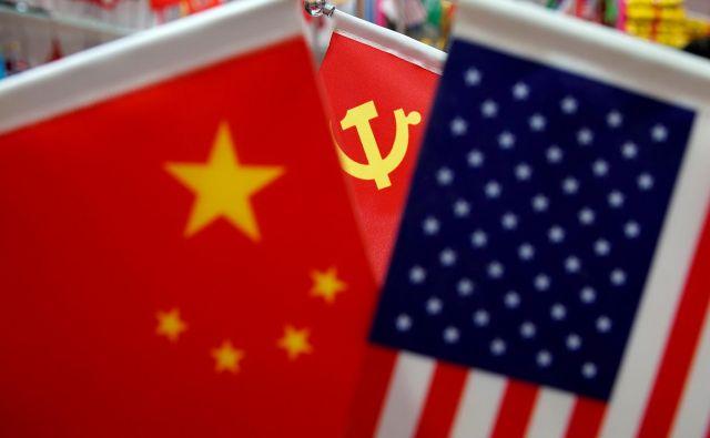 Med Kitajsko in ZDA je vse bolj napeto. Photo: Foto Aly Song/Reuters