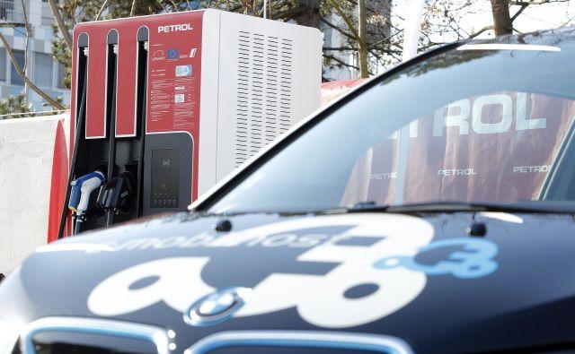 Za uporabnost električnih vozil je ključna mreža javno dostopnih polnilnic. FOTO: Mavric Pivk