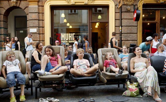 Na festivalu je kar nekaj dogodkov, ki so namenjeni najmlajšim. FOTO: Uroš Hočevar