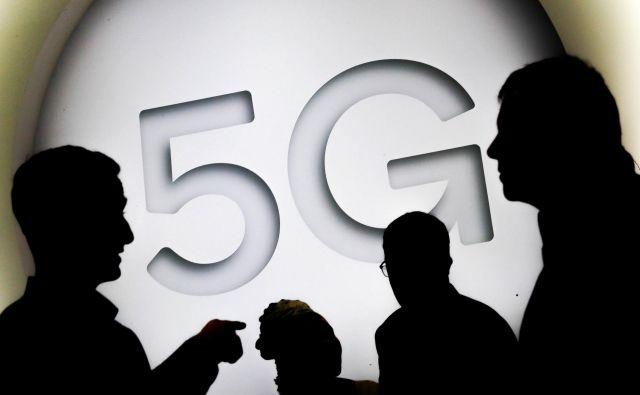 5G je nova generacija mobilnega omrežja. FOTO: Yves Herman/Reuters