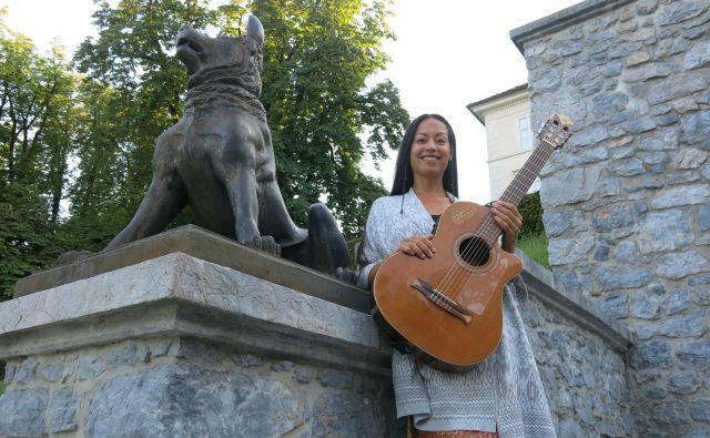ElMar Origenes, strastna glasbenica s Kanarskih otokov.<br /> Foto Zdenko Matoz