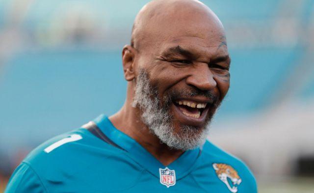 Mike Tyson se je naveličal mirnega življenja po boksarski upokojitvi. FOTO: James Gilbert/AFP