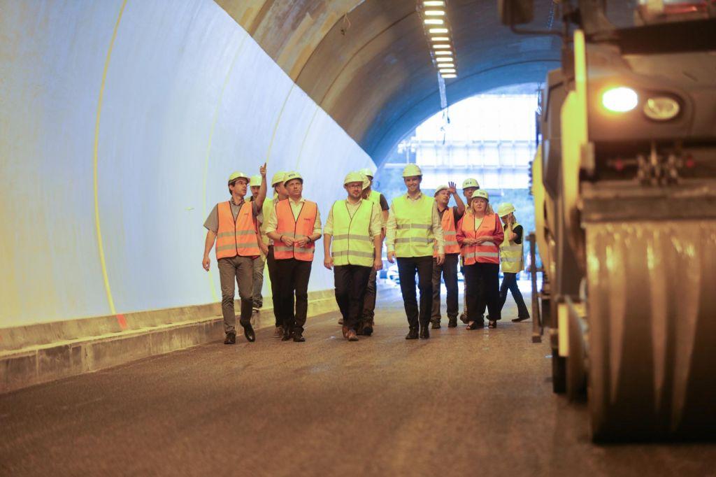 Predor Golovec bo za promet predvidoma odprt sredi avgusta
