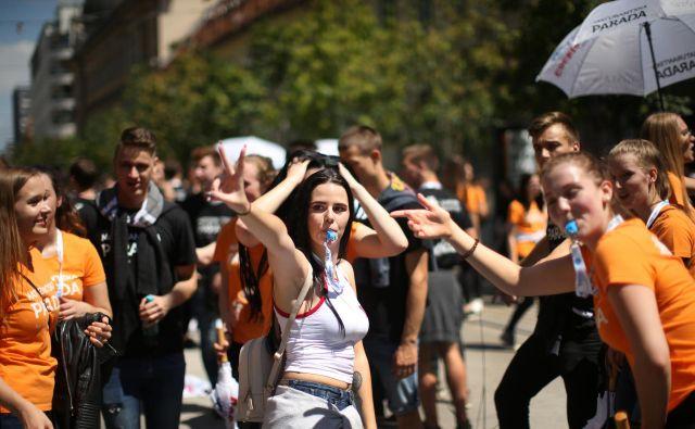 Letos sta odpadli tudi maturantski parada in četvorka. FOTO: Jure Eržen/Delo