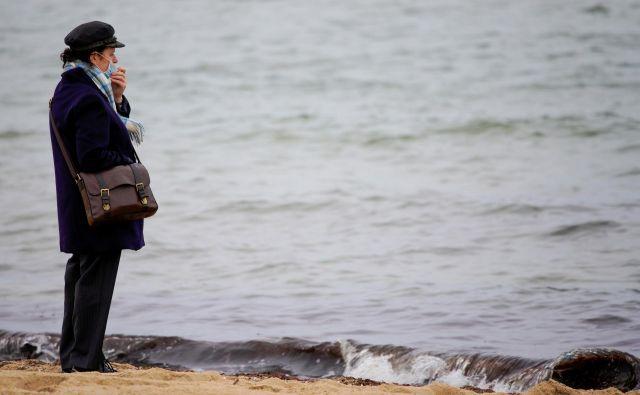 Podlaga za študijo je bila domneva, da bi virus lahko prišel v morje z očiščeno odpadno vodo. FOTO: Sandra Sanders/Reuters