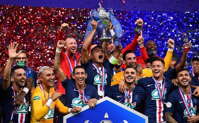 PSG je zmagovalec francoskega pokala. FOTO: Franck Fife/AFP