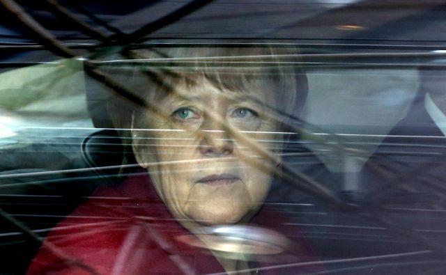 Z novim razmerjem sil v EU po brexitu je Nemčija pridobila večjo moč, kot si je je morda želela. FOTO: Francois Lenoir/Reuters
