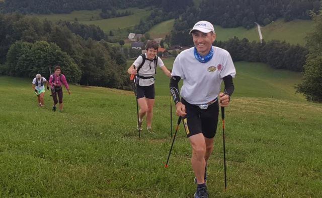<strong>Marjan Zupančič</strong> se je s tekom začel ukvarjati pred več kot tridesetimi leti, je eden izmed najizkušenejših in najvztrajnejših gorskih tekačev v Sloveniji.FOTO: Marjan Zupančič/Facebook
