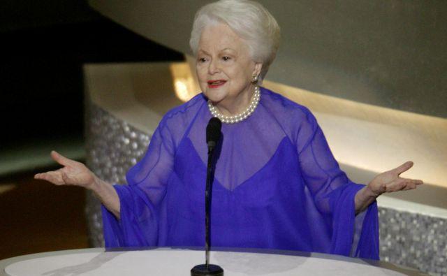 Njena filmska kariera je trajala več kot pol stoletja, zaigrala je v skoraj 50 filmih. FOTO: Mike Blake/Reuters