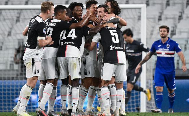 Juventus je že pred zadnjima dvema koloma proslavil naslov italijanskega prvaka. FOTO: Marco Bertorello/AFP