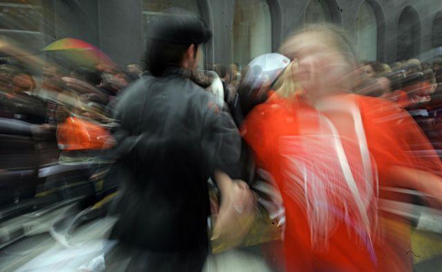 Odpadla je tudi letošnja maturantska parada. FOTO: Pivk Mavric/Delo