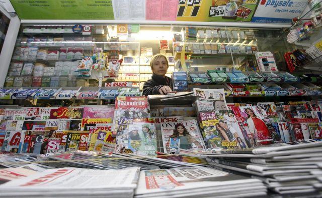 Poslovanje Dela prodaje usiha. Foto Mavric Pivk