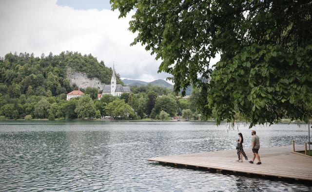 e lani je Slovenija zaradi turističnega navala dobesedno pokala po šivih. FOTO: Uroš Hočevar/Delo