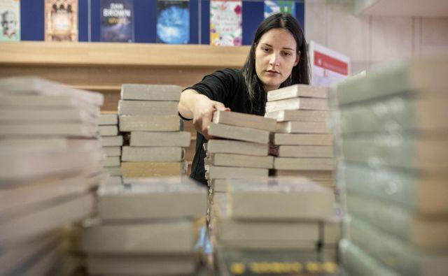 Sredi aprila je bila v Sloveniji prodaja knjig povprečno nižja do 90 odstotkov. FOTO: Voranc Vogel/Delo