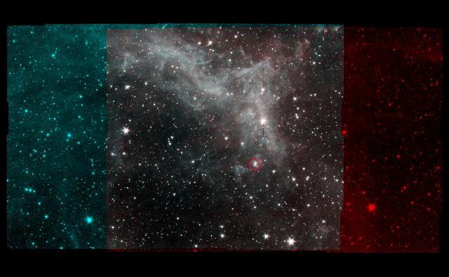 Meglica Kalifornija, ki leži okoli 1000 svetlobnih let od Zemlje. To je zadnji posnetek, ki ga je naredil Nasin vesoljski teleskop Spitzer, ki so ga upokojili 30. januarja letos. FOTO: Nasa