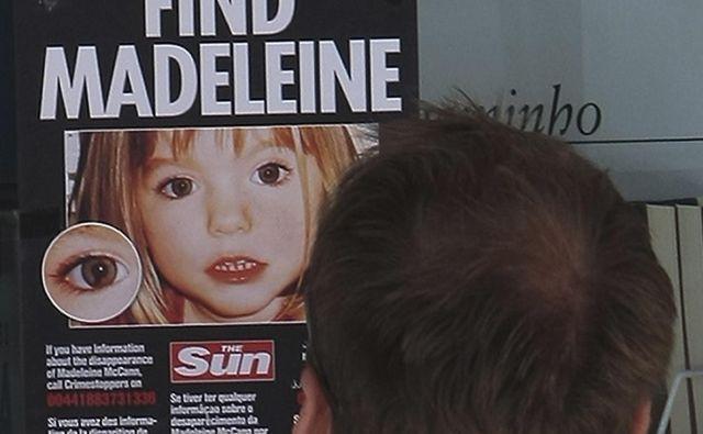 Izginotje triletne deklice Madeleine McCann še danes ni pojasnjeno, imajo pa zdaj glavnega osumljenca. FOTO: Virgilio Rodrigues/Reuters