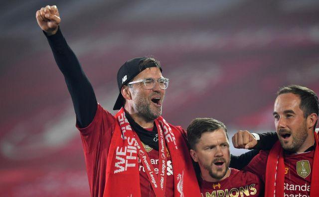 Jürgen Klopp ima veliko razlogov za slavje. FOTO: Reuters
