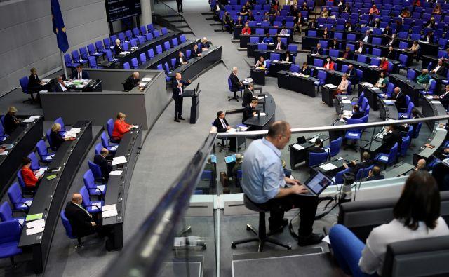 Zdravstvena kriza nobeni nemški stranki ni koristila bolj kot CDU in nobenemu politiku bolj kot kanclerki Angeli Merkel.<br /> Foto Annegret Hilse/Reuters