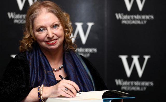 Bo letos spet slavila pisateljica Hilary Mantel, ki je bookerja dobila že za prva dva dela slavne trilogije o zvitem Thomasu Cromwellu?<br /> FOTO: Hannah Mckay/Reuters