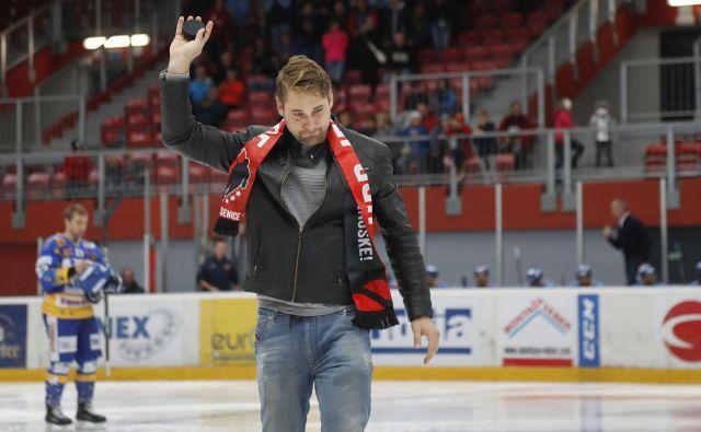 Robert Kristan bo poskusil pomagati jeseniškemu hokejskemu klubu, kjer je sicer nekoč tudi storil prve korake na ledu. FOTO: Leon Vidic/Delo