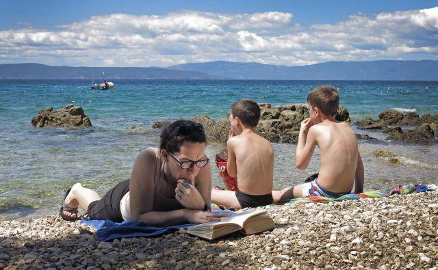 Dolgo poletje je čas za dolge romane. FOTO: Leon Vidic/delo