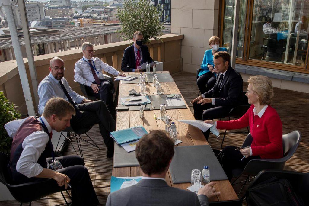 FOTO:Evropska proračunska pogajanja in ozadje slovenskega uspeha