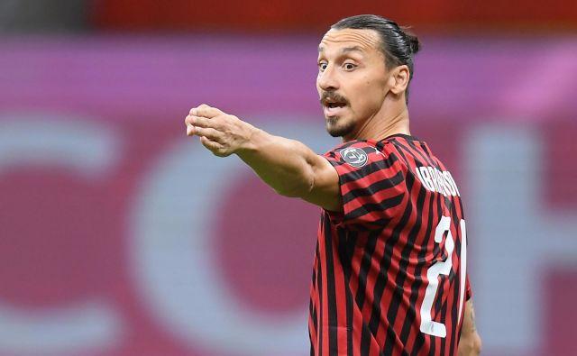 Zlatan Ibrahimović kot za stavo zabija gole. FOTO: Daniele Mascolo/Reuters