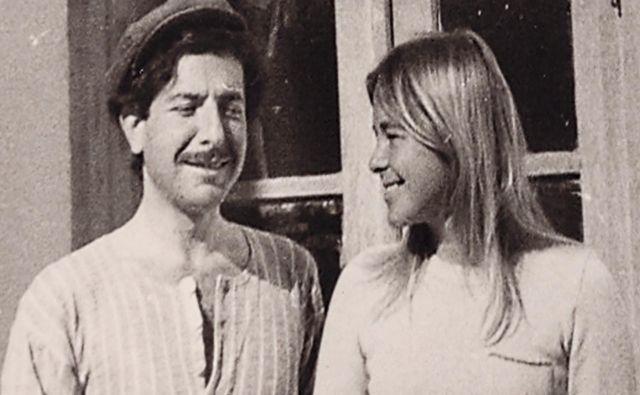 Leonard Cohen in Marianne Ihlen; prizor iz filma Marianne & Leonard: Ljubezenske pesmi FOTO: Arhiv Kinodvor