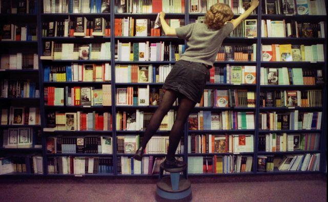 Izvoz prinese britanskim založnikom 59 odstotkov od vse prodaje knjig, lanski je bil višji za 3,3 odstotka. Foto Reuters