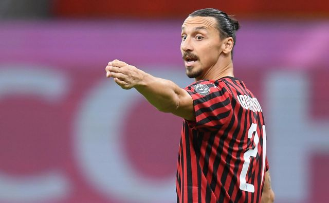Zlatan Ibrahimović ne kaže znakov popuščanja. FOTO: Daniele Mascolo/Reuters