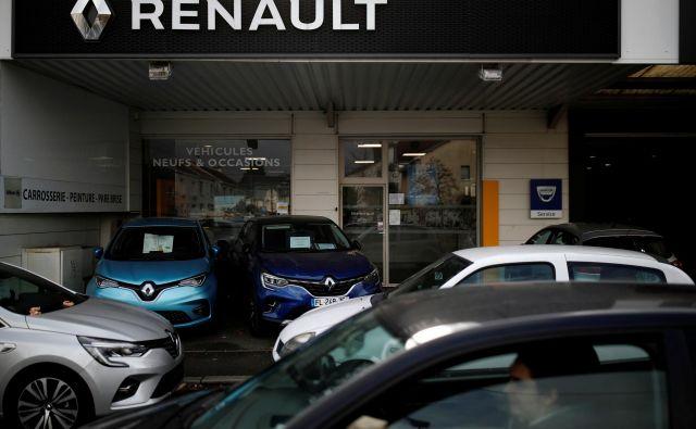 Francoski Renault ima za seboj zelo težavno prvo polovico leta.<br /> FOTO: Stephane Mahe/Reuters