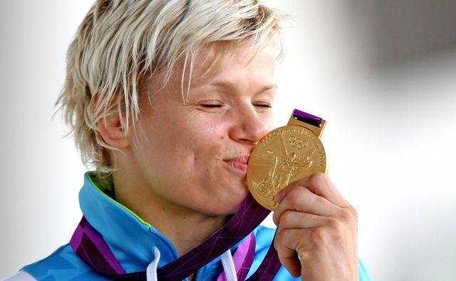 Urška Žolnir je bila na olimpijskih igrah v Londonu razred zase v kategoriji do 63 kilogramov. FOTO: Matej Družnik