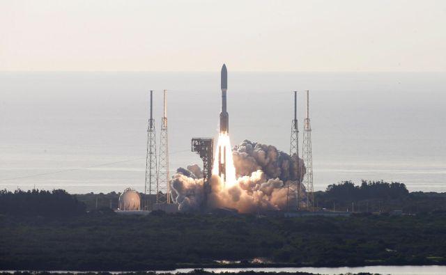 Raketa Atlas je poletela točno in brez težav. FOTO:Joe Skipper/Reuters