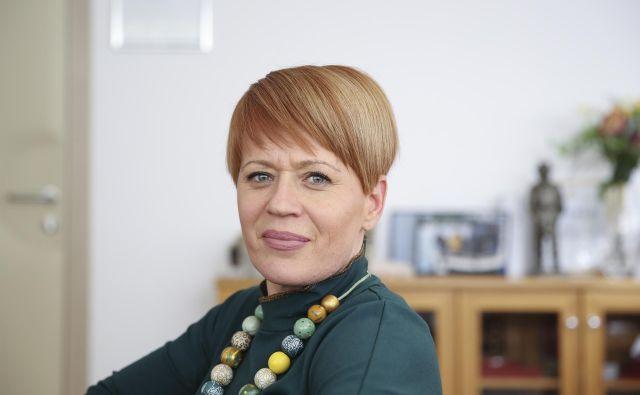 Aleksandra Pivec FOTO: Jože Suhadolnik/Delo