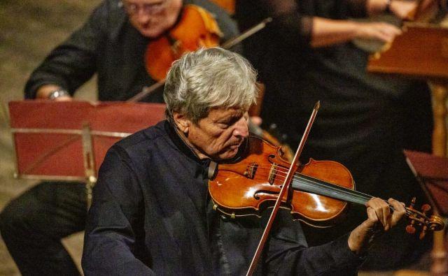 Uto Ughi velja za največjega italijanskega še živečega violinista. Foto Facebook