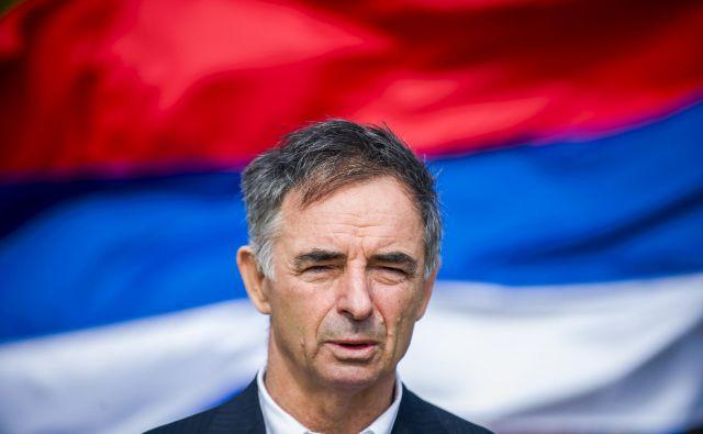 Za zastoj v odpravljanju napetosti med Hrvaško in Srbijo je kriva malodušnost politike na obeh straneh, je prepričan Milorad Pupovac. Foto: Nikša Stipaničev/Cropix