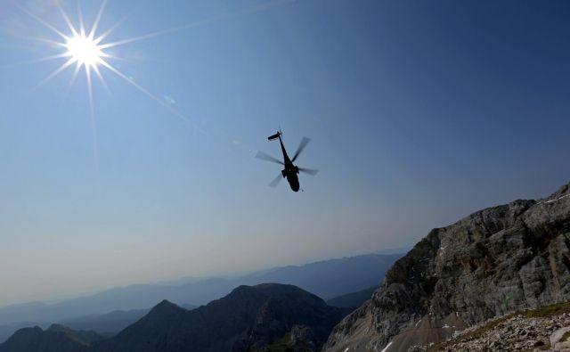 Planinska zveza Slovenije ureja prevoz pokojnika v domovino in varno vrnitev ostalih članov alpinističnega tabora. <em>Fotografija je simbolična</em>.FOTO: Matej Družnik/Delo