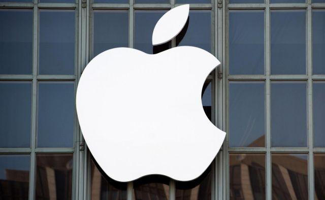 Na prvem mestu ostaja Apple z vrednostjo 241,2 milijarde dolarjev. FOTO: Josh Edelson/Afp