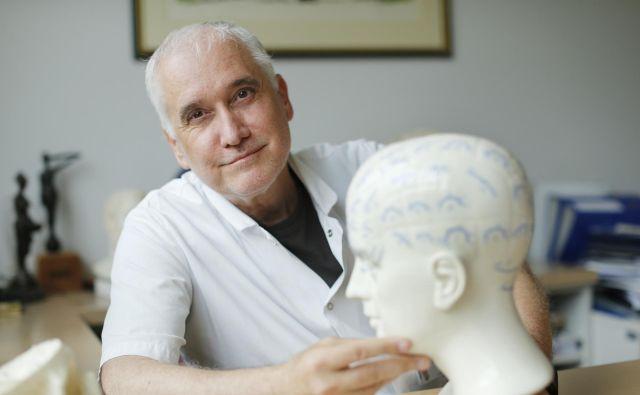 Dr. Zvezdan Pirtošek, predstojnik Nevrološke klinike Univerzitetnega kliničnega centra v Ljubljani FOTO: Uroš Hočevar/delo