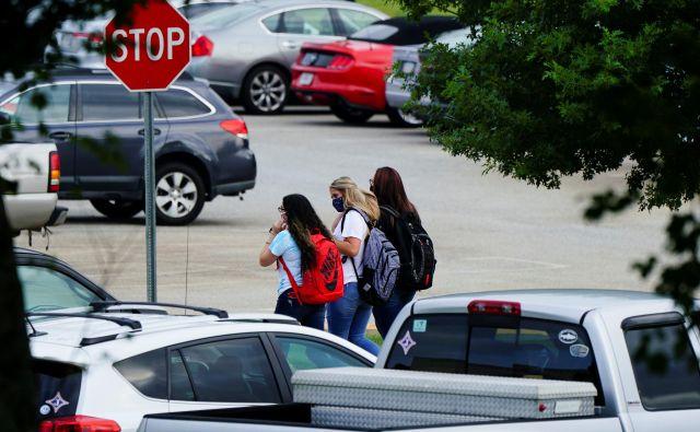 Dijaki srednje šole Jefferson v georgijskem Jeffersonu   Foto Elijah Nouvelage/Reuters