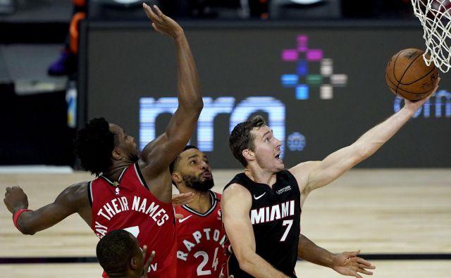 Goran Dragić je bil najučinkovitejši košarkar Miamija proti Torontu. FOTO: Ashley Landis/USA Today Sports
