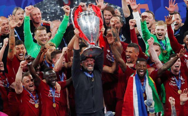 Nazadnje so ligo prvakov osvojili nogometaši Liverpoola. FOTO: Sergio Perez/Reuters
