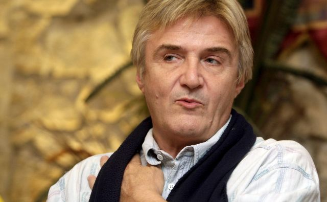 Rajko Dujmić, pevec Novih fosilov, je bil več dni v komi. FOTO:Željko Hajdinjak/Cropix