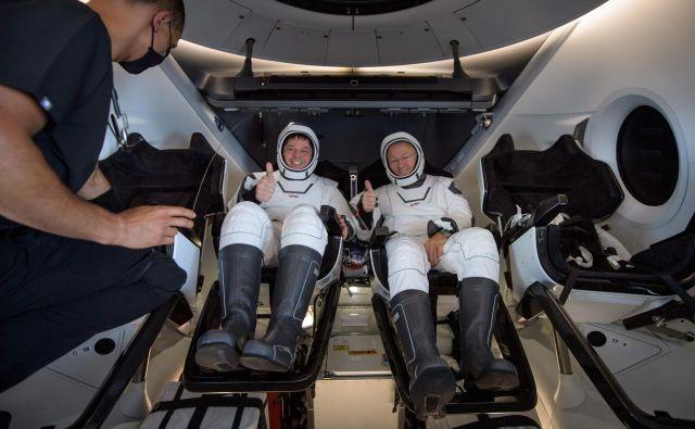 Astronavta sta se na Zemljo vrnila po 64 dnevih. FOTO: Bill Ingalls/Nasa/AFP