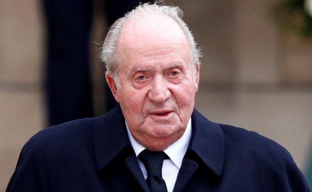 Bivši španski kralj Juan Carlos je zaradi korupcijske afere zapustil svojo domovino. Foto: François Lenoir/ Reuters