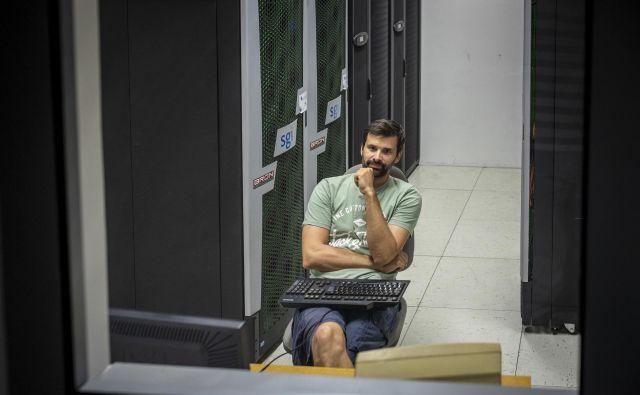 Matjaž Ličer je zaposlen na Morski biološki postaji Nacionalnega inštituta za biologijo. Foto Voranc Vogel