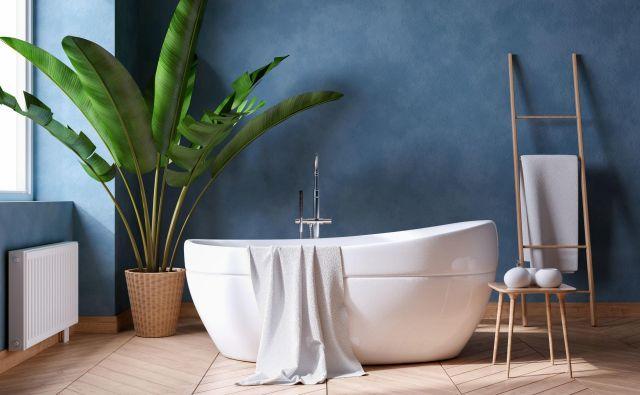 Zelene lončnice lahko popestrijo tudi kopalnico. FOTO: Lekstock 3d/shutterstock