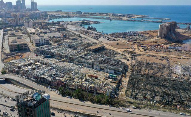 Ne le Hirošima in Nagasaki, tudi Bejrut in koronavirus razglašata preplah. FOTO: AFP